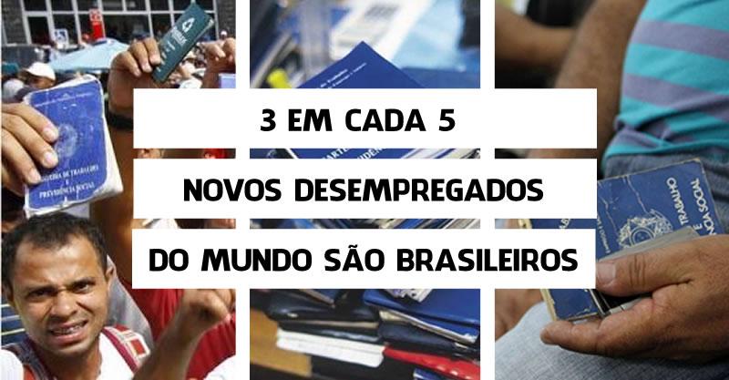 desempregados brasil