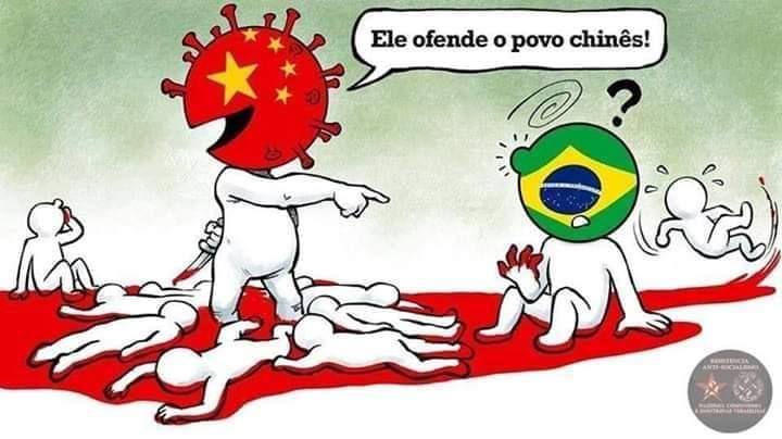 Eduardo Bolsonaro tem razão em dizer que a culpa é do governo comunista chinês