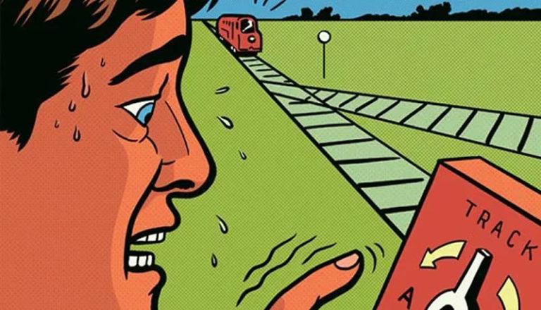 COVID-19 e o dilema do trem: você nos trilhos e o governo na alavanca